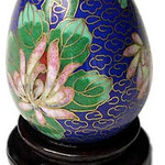 "<b>Egg Shaped Salt</b><br/> Unknown (Chinese) Egg Shaped Salt Cloisonne, n.d. LFAC #1994:12:01<a href=""http://farm8.static.flickr.com/7182/6916690159_cfb007749b_o.jpg"" title=""High res"">∝</a>"
