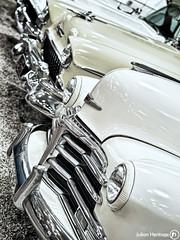 Hoods & Fenders (ShrubMonkey (Julian Heritage)) Tags: detail classic chevrolet car museum us automobile international ornament human american hood motor form coupe 1949 fenders fleetline hoods haynes