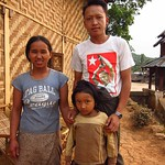 "O Maung and Family in Pankam Village <a style=""margin-left:10px; font-size:0.8em;"" href=""http://www.flickr.com/photos/14315427@N00/6924317584/"" target=""_blank"">@flickr</a>"