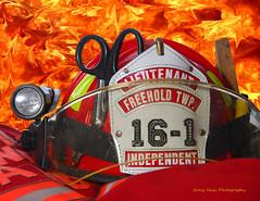 Helmet c_Flames_4 copy (haas.craig) Tags: rescue tower photoshop truck fire nikon smoke helmet 911 engine scene hose firetruck d200 firefighting firedepartment ldh firefighters carfire lr lightroom pumper towerladder turnoutgear brushtruck emergencyservice fireground firescene bunkerpants smokecondition