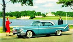 1959 De Soto Firedome 2-Door Sportsman (aldenjewell) Tags: hardtop postcard desoto sportsman 1959 2door firedome