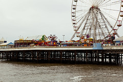 Central Pier (ross edwin) Tags: uk england holiday color colour tourism fun colorful ride north fair colourful cheap blackpool tack