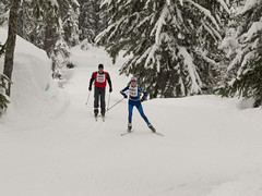 Payak race at Whistler Olympic Park
