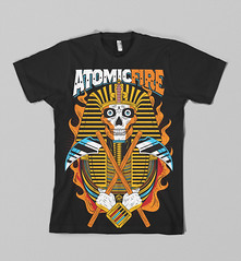 ATOMIC FIRE ! (Victor Ortiz - iconblast.com) Tags: barcelona music southamerica illustration design clothing graphics support colorful colombia bogota surf graphic awesome style american horror type skateboard strong skateboards brand celebrate camiseta blast satanic ilustracion apparel invaders artdirection originality camisetas demonios mithology barranquilla ffffound iconblast