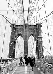 bridge_01 (Jake Holt) Tags: nyc manhattan brooklynbridge pentax645 trix400 pentax45mm28