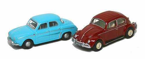 Oxford Dauphine e VW 1-76