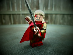 LOTR: Haldir (Grant Me Your Bacon!) Tags: two lego towers deep lord elf rings helms elves haldir