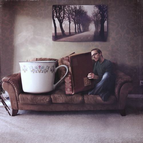 """""""You can never get a cup of tea large enough or a book long enough to suit me."""" - CS Lewis"""