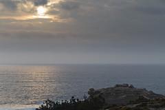 Castro de Baroa (dfvergara) Tags: sol azul atardecer mar agua corua galicia castro cielo nubes baroa