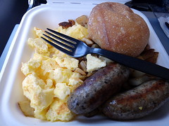 I bought this from the airport,not from the airline. (Σταύρος) Tags: california ca vacation holiday breakfast plane airplane bread fly us inflight desert beef aircraft altitude flight jet sausage fork aerial plastic valley airbus eggs windowview inflightmeal styrofoam rtw bun airliner scrambled vacanze avion scrambledeggs centralvalley windowseat kalifornien foodie roundtheworld californie usair usairways plasticfork weekendgetaway globetrotter sanbenitocounty sanbenito qualitytime a321 aéreo 31a کالیفرنیا worldtraveler 加州 カリフォルニア seat31a styrofoamplate airbusa321 αεροπλάνο inaplane californië blackfork aério カリフォルニア州 greatcentralvalley калифорния كاليفورنيا interiorcabin καλιφόρνια flywithus flight488