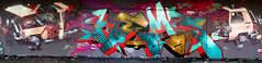 OH' MERDE (ALL CHROME) Tags: urban paris canon graffiti weed spraypaint cocaine kemer kem csx zoer ironlak allchrome kem5 kemr