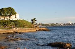 Ponta do Humait - Salvador, Brasil (carolborges) Tags: sun beach salvador pontadohumait