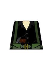 Viet-Cong-Officer (Dirks_Designs) Tags: lego assault vietnam viet legos decal minifig decals officer minifigure cong
