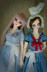 Pearl & Miss Valentine () Tags: valentine pearl kurumi kujo