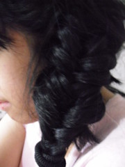 Greatest Achievement for the Day: Fishtail Braid (kathyyuvi) Tags: life hair dream bored style braid fail