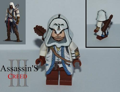 Лего ассасин как сделать ассасина