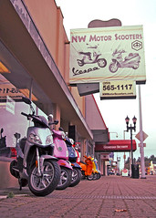 NW Motor Scooters () Tags: street city urban usa color america photo italian highway nw vespa view angle pacific northwest image sale united picture motorcycles gritty neighborhood photograph 99 sound scooters motor local tacoma states machines economy mpg scoot dealership puget prices piaggio riders kymco motorscooters scooting southtacomaway