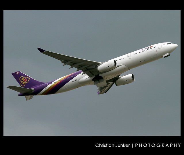 Airbus | A330-343X | Thai Airways International | HS-TEU | Hong Kong | HKG | VHHH
