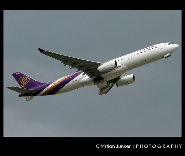 Airbus | A330-343X | Thai Airways International | HS-TEU | Hong Kong | HKG | VHHH