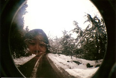 (aksanefuji) Tags: india snow lomography indian fisheye kashmir srinagar indiano ndia caxemira