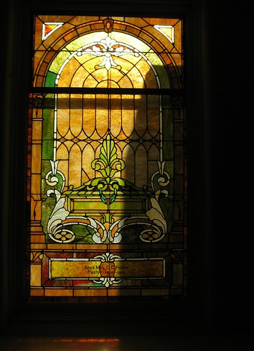 Memorial Window, Reverend Charles Peale