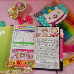 923972_708135002561737_1515155371_n (anastasiadewi12) Tags: cute notebook sketch drawing diary journal doodle kawaii draw stationery agenda hobo planner doodling rilakkuma datebook planneraddict