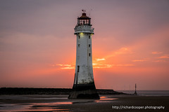 Another Perch Rock sunset (*Richard Cooper *) Tags: new sunset lighthouse rock brighton perch wallasey wirral merseyside