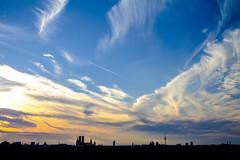 Munich Skyline (C_MC_FL) Tags: city sunset sky cloud building silhouette skyline architecture canon germany skyscape munich mnchen landscape photography eos evening abend twilight fotografie sonnenuntergang view sundown horizon himmel wolke negativespace stadt architektur copyspace aussicht tamron landschaft gebude horizont 2470 kontur zwielicht a007 stadtlandschaft 60d