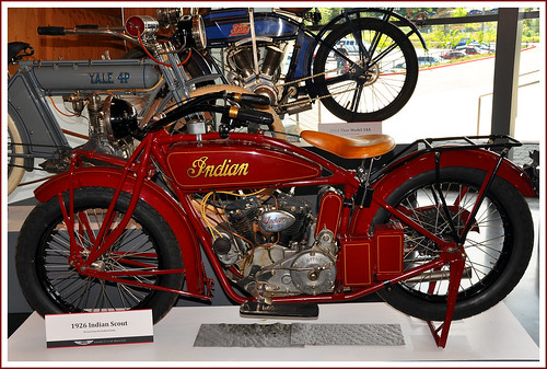 1926 Indian Scout Motorcycle