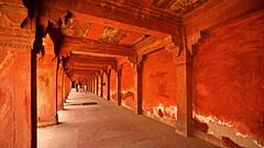 Fatehpur Sikri Palace 108 (David OMalley) Tags: india muslim islam agra palace mosque pilgrimage akbar masjid allah islamic pradesh fatehpur sikri muhammed uttar jama darwaza buland sikari vijaypur