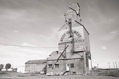 Sheridan Flouring Mills (LostOzarkRambler) Tags: blackandwhite bw monochrome montana 28mm grainelevator bestoutwest nikond800