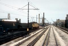 CTA freight 3-20-73 Terrell Colson (jsmatlak) Tags: chicago electric train cta side north railway northshore l locomotive freight