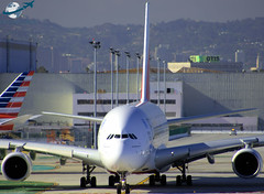 Emirates A380-861 [A6-EEV] (aircraftvideos) Tags: california airplane airport traffic angeles aircraft aviation uae cargo airbus a380 ek boeing lax 707 americanairlines 777 aa 747 a330 757 airliner a340 767 721 braniff 737 a320 aal 727 733 773 a319 a321 789 787 772 744 a300 losangelesinternationalairport 722 a318 a333 748 734 a332 764 738 klax 762 763 74f 77f 788 avgeek 77w 77l a388 braniffinternational 77e 748i avhooker