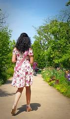 Miss Rose Queen Tsvetelina Ivanova form Bulgaria_3a,Tokyo Chofu Floral Garden (sapphire_rouge) Tags: woman girl rose garden botanical tokyo bulgaria  miss chofu