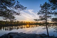 Lake Grcken (HDR) (ba7b0y) Tags: sunset lake hdr vrmland hagfors grcken