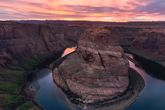 Horseshoe Bend Sunset (My Friends & Family.) Tags: sunset coloradoriver horseshoebend pageaz