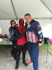 """Scott meets Deadpool • <a style=""""font-size:0.8em;"""" href=""""http://www.flickr.com/photos/28558260@N04/26996870732/"""" target=""""_blank"""">View on Flickr</a>"""