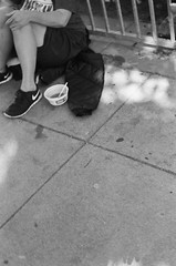 01610015 (MARIENtravelogue) Tags: sanfracisco homeless sfmoma architecture motorcycle sightglasscoffee roasters coffee goldengate bridge streetphotography blackandwhite ilford xp2 delta400 hp5 deyoungmuseum museum