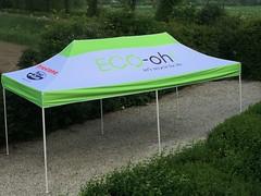 Quick Folding Tent - 3x6 met  bedrukking (1)