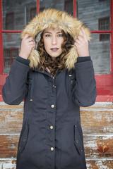 Alaskan Summer (Keltron - Thanks for 7 Million Views!) Tags: fur model elizabeth modeling brunette browneyes curlyhair beautifulgirl elizabethgray hotmodel alaskansummer
