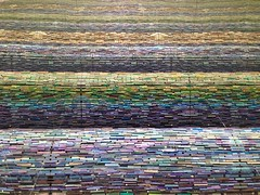 Flooded by books (kelko585) Tags: pattern books