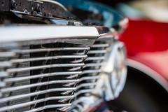 Grill work (beezelite) Tags: nikon gm dof chrome classiccars generalmotors bellmoreny d7200 sigmaart