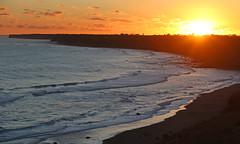1000w (Paul J's) Tags: sunset beach landscape coastal tasmansea taranaki kaupokonui