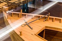 Comacchio (Anita Pravits) Tags: italien italy museum italia ship anchor museo schiff romanempire anker emiliaromagna comacchio modelship schiffsmodell rmischesreich handelsschiff tradingship museodellanaveromana