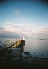 000026c (bigalid) Tags: film 35mm toy harbour plastic shore northumbria april amble 2016 c41 fixedfocus vuws superheadzwideandslim agfaphotovistaplus200