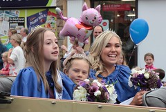 Portishead carnival June 2016 (Bristol Viewfinder) Tags: carnival portishead somerset princesses
