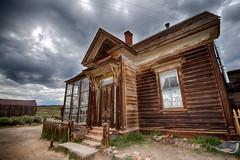 The J.S. Cain Residence (alouest225) Tags: california usa clouds nikon unitedstates d750 bodie hdr californie etatsunis bodiestatehistoricpark inexplore