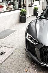 Buxus sempervirens. (fabianbaege) Tags: light racecar grey licht wing plus audi karlsruhe supercar v8 v10 spoiler r8 flgel 2015 carspotting 2013