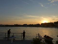 Fishermen, Black Sea, Nessebar, Bulgaria (alex_7719) Tags: fisherman fishing blacksea water bulgaria nessebar sunset
