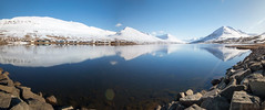 You can have any flavour you happen see (OR_U) Tags: longexposure blue sea sky panorama snow mountains reflection ice water iceland rocks le fjord oru 2016 lafsfjrur northfjords